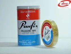 rubber adhesive Transparent Panfix Celofin Tape