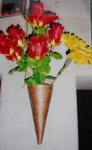 jute hanging flower vase flower pots vases scr terracotta