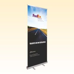 Alumina Roll Up Banner Stand