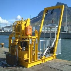 Launch And Recovery System Lr50 2 Diver Air Basket