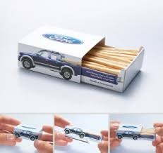 Advertising Matchbox