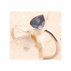 Iolite 925 Sterling Silver Ring