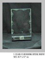 Revolving Crystal Trophy