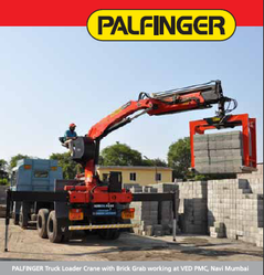 Brick, Tiles, Paver Blocks Handling