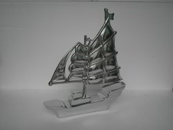 Aluminium Ship Model Figurine