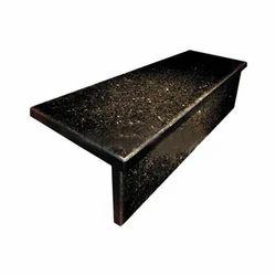 Black Galaxy Granite Steps