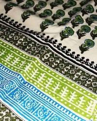 designer printed fabric