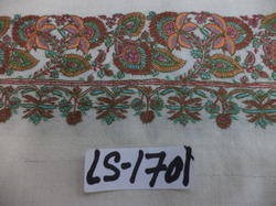 Hand Needle Work 4 Side Border Kashmir Pashmina Shawls