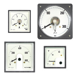 DC Moving Coil DIN Panel Ammeters & Volt Meters