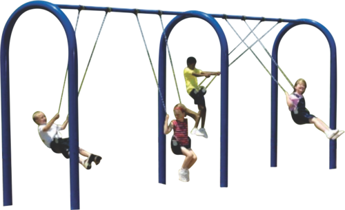 Outdoor Swings Playground Swing Manufacturer From Delhi