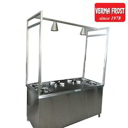 Stainless Steel Live Cooking Stall
