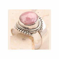 Rhodochrosite 925 Sterling Silver Ring