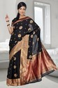 Traditional hand woven Tassar Saree