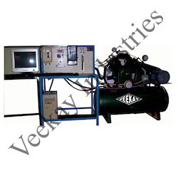 Two Stage Twin Cylinder Air Compressor Test Rig