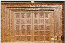 Wood Puja Doors