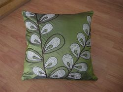 Petals Embroidery Cushion Cover