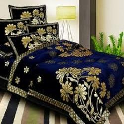 silk bed sheet designer bed sheets huda panipat rhythm overseas id