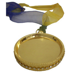 Round Gold Medal