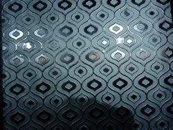 Crystel Effect Pattern Glass