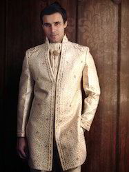 Embroidered Wedding Sherwani