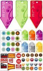 Sale Labels Design