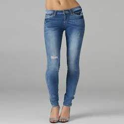girls ripped jeans - Jean Yu Beauty