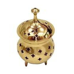 High Quality Perforated Brass Incense Burner