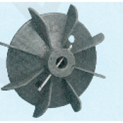 Plastic Fan Suitable For 80 Frame Size