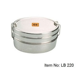 Stainless Steel Double Layer Lunch Box
