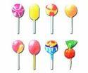 Single Notch Lollipop Sticks