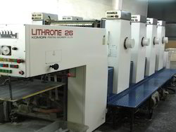 Komori Lithrone 26 Four Color Offset Printing Machine