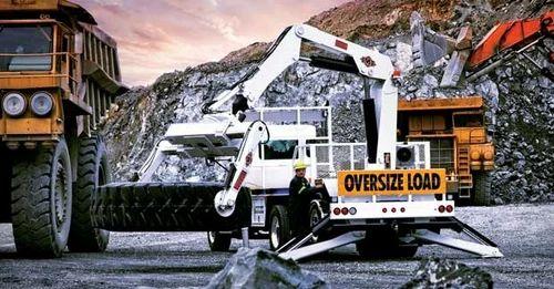 Tire Trucks Otr Trucks Manufacturer From Noida