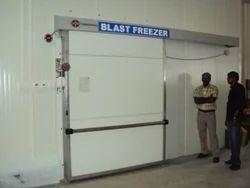 Grey Blast Freezer Door