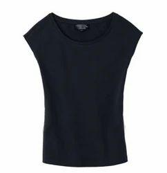 Women's T-Shirts - Women's Plain T-Shirts Exporter from Tiruppur