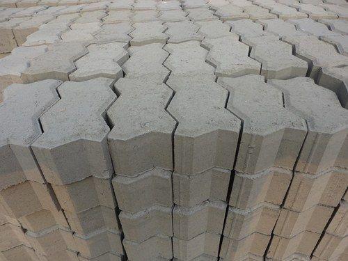 interlocking concrete paver block at rs 42 /square feet(s