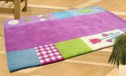 Mayur Polyester Shag Designer Hand Tufted Carpets, for Home, Size: 1.6 x 2.6 m