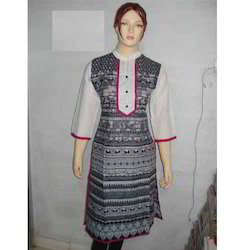 Ladies Plain Cotton Kurtis
