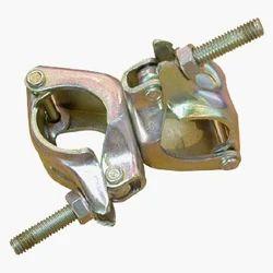 Mild Steel Hot Dipped Galvanized Double Coupler For Construction, Shape: Tubular