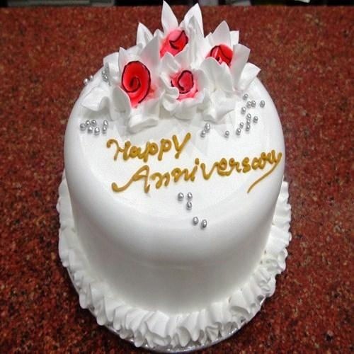 Anniversary Cakes And Flowers View Specifications Details By