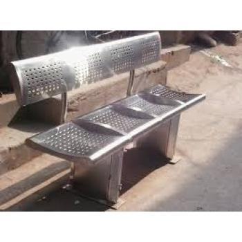 4 Seater Stainless Steel Bench At Rs 18600 Piece