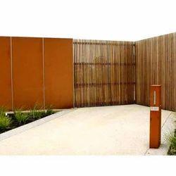 Designer Stainless Steel Boundary Panel
