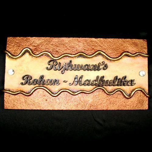 Simple Polyresin Door Name Plate & Simple Polyresin Door Name Plate at Rs 1500 /piece(s) | Name Plates ...