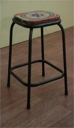 Iron Recycled Stool