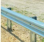 Galvanised Highway Road Safety Guard