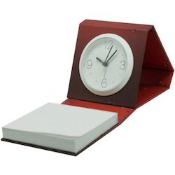 Eco Memo Pad with Clock