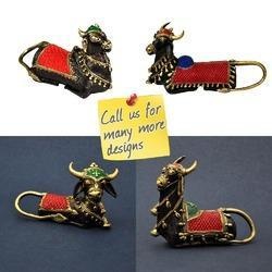 Dhokra - Bell Metal - Religious Colorful Nandi