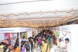 Visitors Crowd in Exhibition