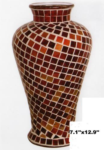 Mosaic Glass Vase At Rs 1500 Piece Mosaic Vase Id 7156244712