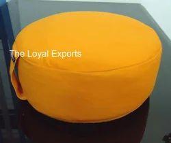 Saffron Meditation Cushion