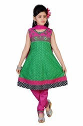 Girls Printed Salwar Suit